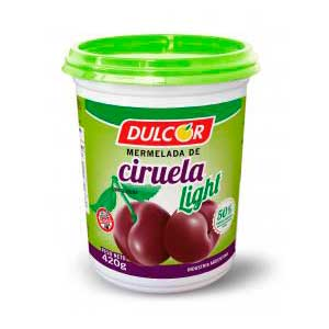 Mermelada de ciruela 500g Light Dulcor.