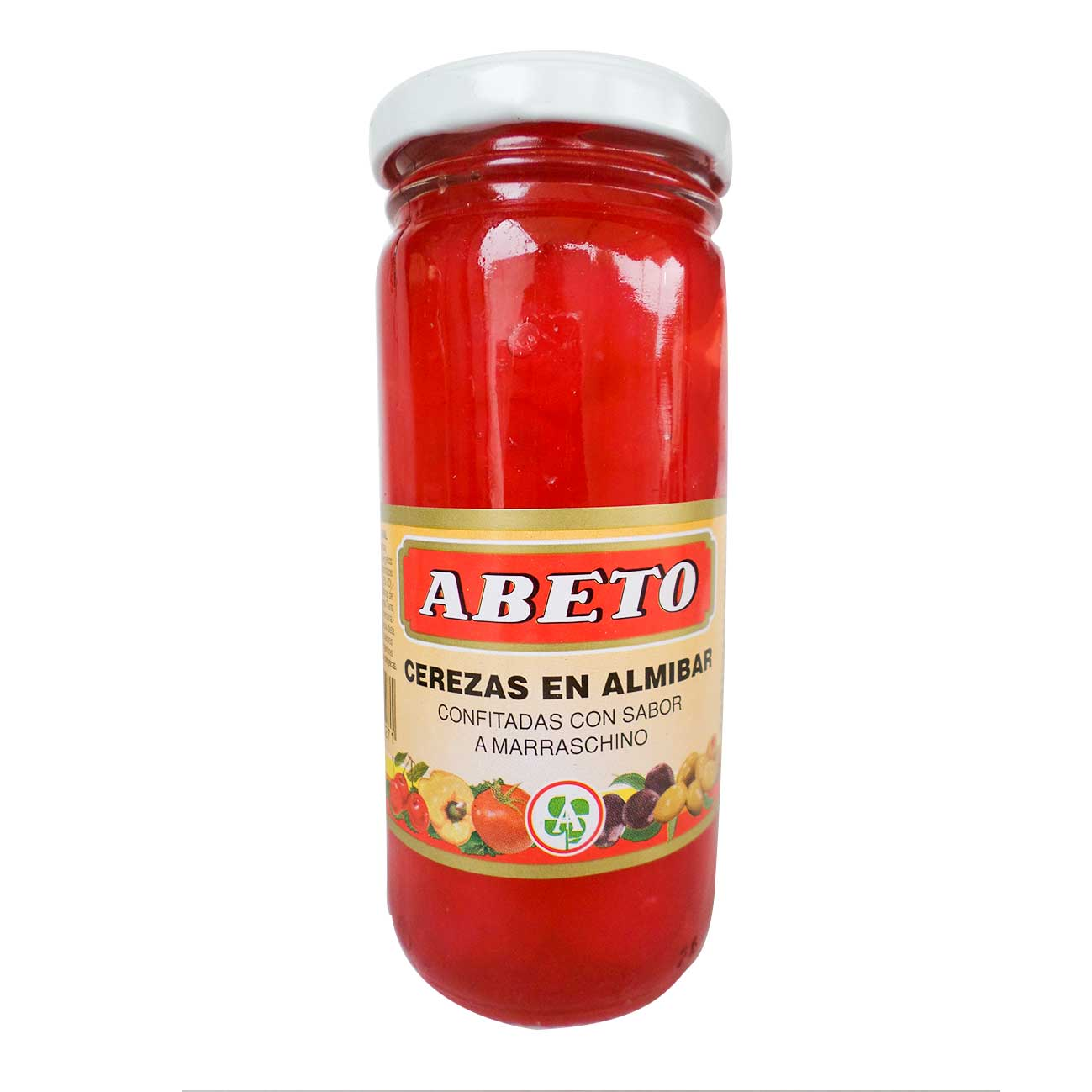 Cerezas al marraschino enteras 210g ABETO